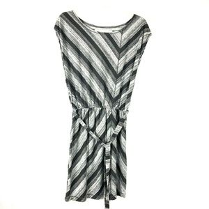 Max Studio Women's Stripe Mini Dress Belted 51E